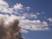 Lake St fire- smoke