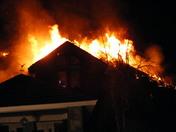 3 alarm fire @ Appletree Green 3/16/09