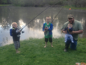 mothers days fishing