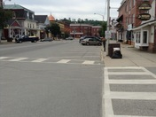 Downtown Lancaster. Where people are friendly, and life changes little