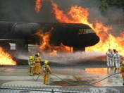 NH Fire Academy Airport Rescue Fire Fighter Training, Concord, New Hampshire 09-