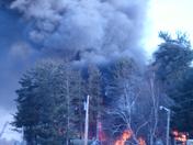 alton bay fire; NH