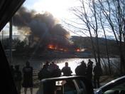 Fire at Alton Bay