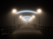 3c. Foggy Night