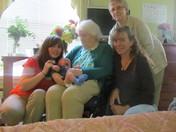 4 moms 5 generations!