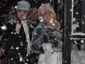 A White Wedding!