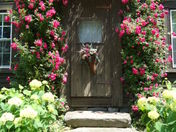 Our old fashion front door