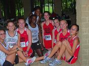 Blue Ridge Cross Country Team