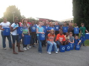 Southwood Middle School's Recycling Team