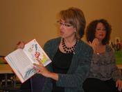 Beth Brotherton Reads to Greenview Child Development Center