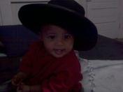 Yasmine as a Cowgirl