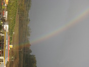 End of Rainbow At Burger King Ellijay, GA