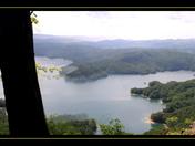 View over Lake Jocassee