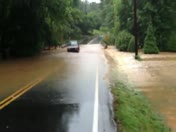 Gilder Creek Flooding at Holland Road