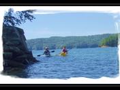 Sea Kayaking on Lake jocassee