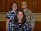 Sonya, Raina Lynn and Kelsey
