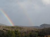 Double rainbow over Pickens