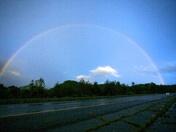 Rainbow over the Cliff's