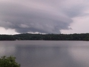 Tornado from Georgia across Lake