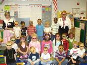 Mrs. Tina Sanders and Mrs.Vickie Cheek's K5 Class