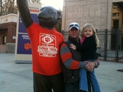 Dad and Sophie Celebrate Another Clemson Championship