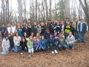 Mrs. Barefoot's 8th Grade Social Studies classes from Mauldin Middle School