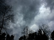 Crazy Clouds Over Easley