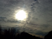 Pictures of the sky on 1/13/2012