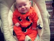 Eryk Mykel first Halloween (: