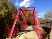 Old Red Bridge in Hot Springs, NC