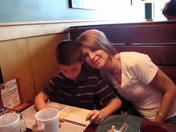 Mom and Andrew