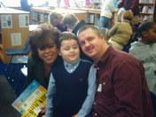 Jacob & Parents @ Awards Day!