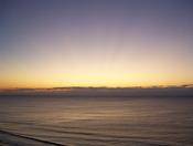 Sunrise at Myrtle Beach, SC