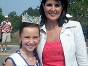 Governor Nikki Haley & Madison Crymes Young Miss SC 2011