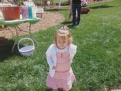 Abby @ the Easter Egg Hunt 2009