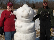Big snow man - Travelers Rest, SC