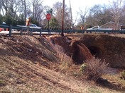 Sinkhole/Water Main break at Cleveland Park