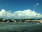 Thunderhead over Spartanburg