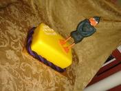 Fondant Daffy Duck kid's birthday cake