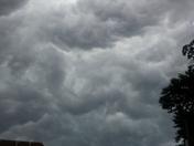 Crazy looking clouds