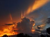 Unusual Sunset Following a Rainstorm