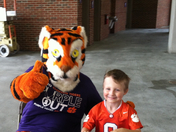 "Levi says, ""Go Tigers"""