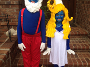 Smurfy Halloween