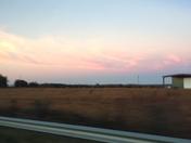 sunset in lavonia ga