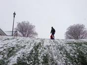 Elijah Dempsey (4) sleigh Ride