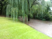 flooding from the rain today ...July 12 2013
