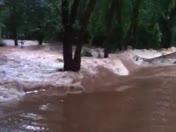 Flooding on Rock Creek Rd in Clemson