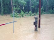 Todd's Creek Road. Central SC flooding