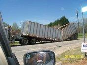 Trailer Causes detour