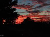 Sunset on Flatwood Rd. -002